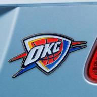 Oklahoma City Thunder Color Car Emblem