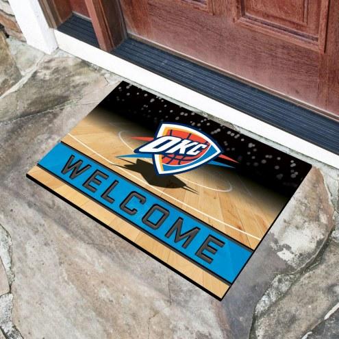 Oklahoma City Thunder Crumb Rubber Door Mat