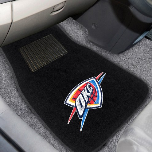 Oklahoma City Thunder Embroidered Car Mats