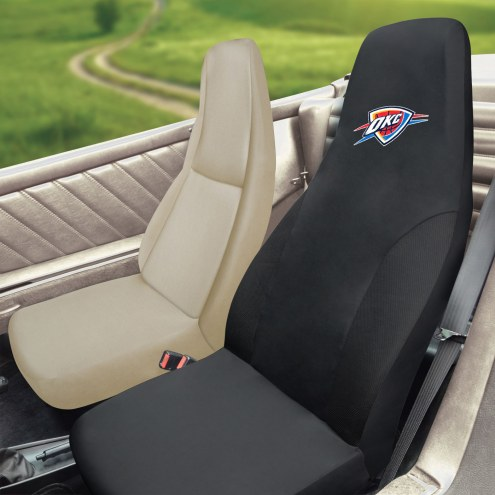 Oklahoma City Thunder Embroidered Car Seat Cover