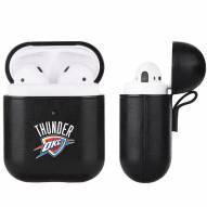 Oklahoma City Thunder Fan Brander Apple Air Pods Leather Case