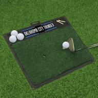 Oklahoma City Thunder Golf Hitting Mat
