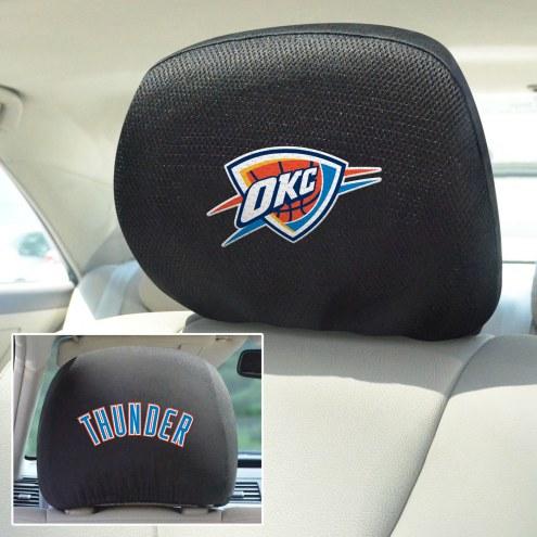 Oklahoma City Thunder Headrest Covers