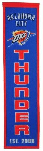 Oklahoma City Thunder Heritage Banner