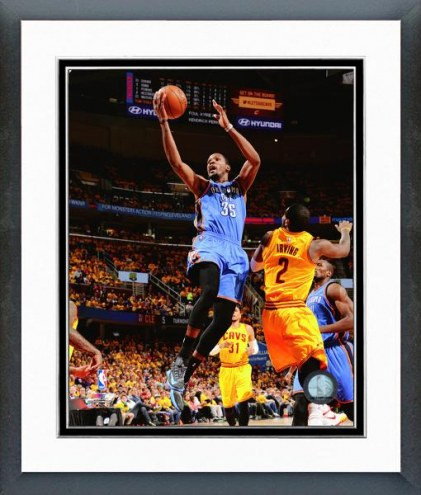 Oklahoma City Thunder Kevin Durant Action Framed Photo