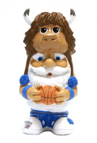 Oklahoma City Thunder Mad Hatter Garden Gnome