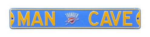 Oklahoma City Thunder Man Cave Street Sign