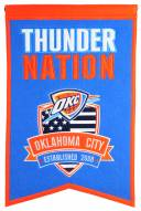 Oklahoma City Thunder Nations Banner