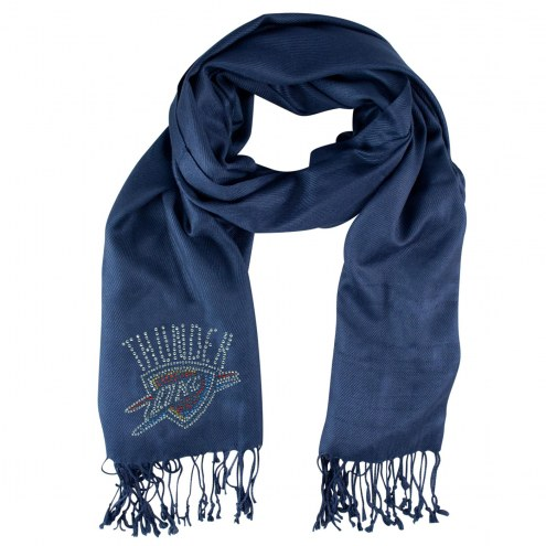 Oklahoma City Thunder Navy Pashi Fan Scarf
