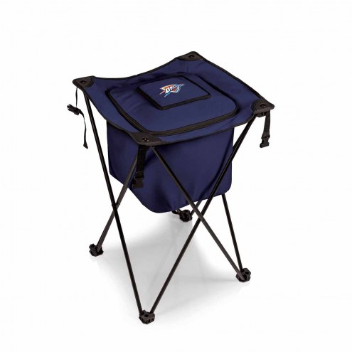 Oklahoma City Thunder Navy Sidekick Portable Cooler