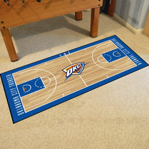 Oklahoma City Thunder NBA Court Large Runner