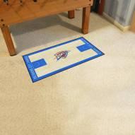 Oklahoma City Thunder NBA Court Runner Rug