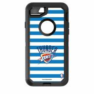 Oklahoma City Thunder OtterBox iPhone 8/7 Defender Stripes Case