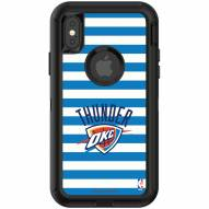 Oklahoma City Thunder OtterBox iPhone X/Xs Defender Stripes Case