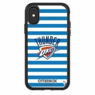 Oklahoma City Thunder OtterBox iPhone X/Xs Symmetry Stripes Case
