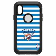 Oklahoma City Thunder OtterBox iPhone XR Defender Stripes Case