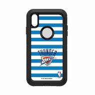 Oklahoma City Thunder OtterBox iPhone XS Max Defender Stripes Case