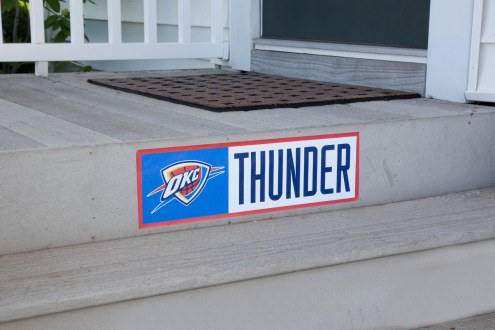 Oklahoma City Thunder Outdoor Step Graphic