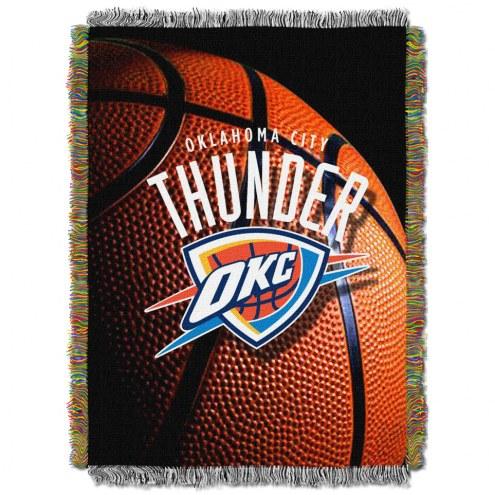 Oklahoma City Thunder Photo Real Throw Blanket