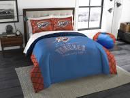 Oklahoma City Thunder Reverse Slam Full/Queen Comforter Set