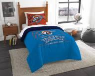 Oklahoma City Thunder Reverse Slam Twin Comforter Set