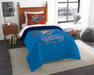 Oklahoma City Thunder Reverse Slam Twin Comforter Set