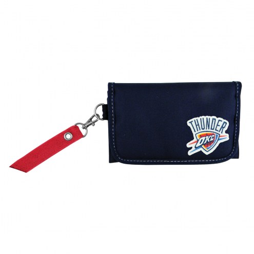 Oklahoma City Thunder Ribbon Organizer Wallet