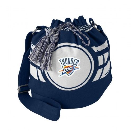 Oklahoma City Thunder Ripple Drawstring Bucket Bag