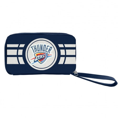 Oklahoma City Thunder Ripple Zip Wallet