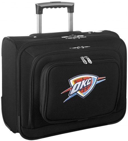 Oklahoma City Thunder Rolling Laptop Overnighter Bag