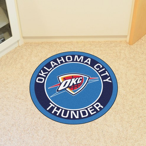 Oklahoma City Thunder Rounded Mat