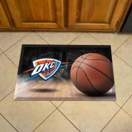 Oklahoma City Thunder Scraper Door Mat