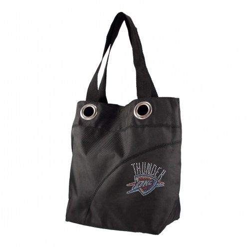 Oklahoma City Thunder Sport Noir Sheen Tote