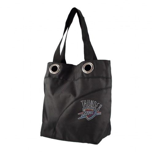 Oklahoma City Thunder Sport Noir Sheen Tote