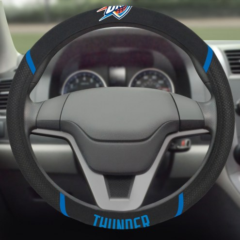 Oklahoma City Thunder Steering Wheel Cover