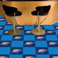 Oklahoma City Thunder Team Carpet Tiles