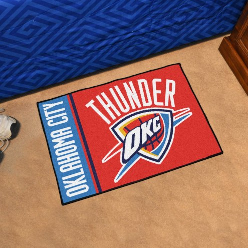 Oklahoma City Thunder Uniform Inspired Starter Rug