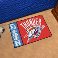 Oklahoma City Thunder Uniform Inspired Starter Rug