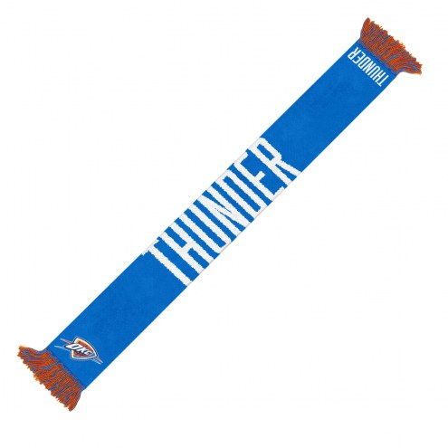Oklahoma City Thunder Wordmark Scarf