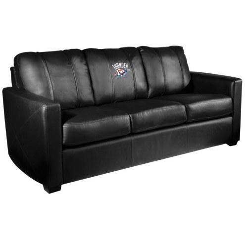 Oklahoma City Thunder XZipit Silver Sofa