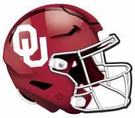 """Oklahoma Sooners 12"""" Helmet Sign"""