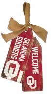 """Oklahoma Sooners 12"""" Team Tags"""