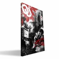 "Oklahoma Sooners 16"" x 24"" Spirit Canvas Print"