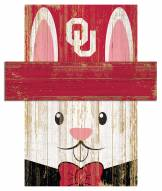 "Oklahoma Sooners 19"" x 16"" Easter Bunny Head"