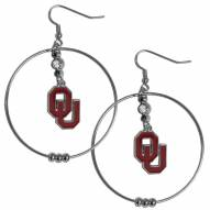 """Oklahoma Sooners 2"""" Hoop Earrings"""