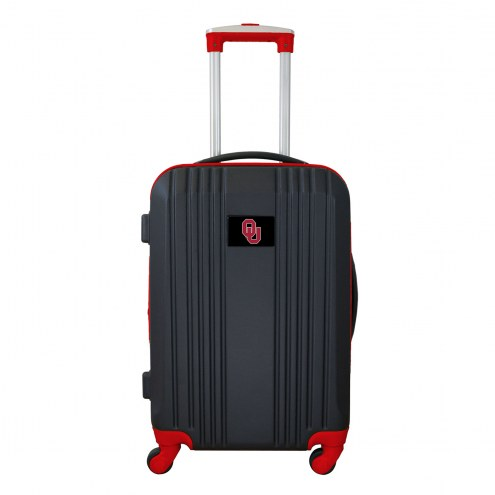 "Oklahoma Sooners 21"" Hardcase Luggage Carry-on Spinner"
