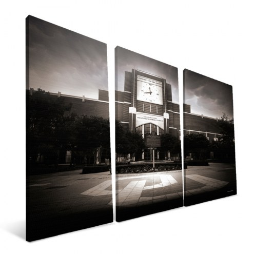 "Oklahoma Sooners 24"" x 48"" Stadium Canvas Print"