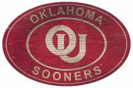 "Oklahoma Sooners 46"" Heritage Logo Oval Sign"