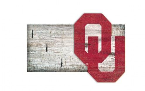 """Oklahoma Sooners 6"""" x 12"""" Key Holder"""