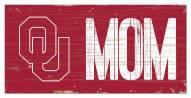 "Oklahoma Sooners 6"" x 12"" Mom Sign"